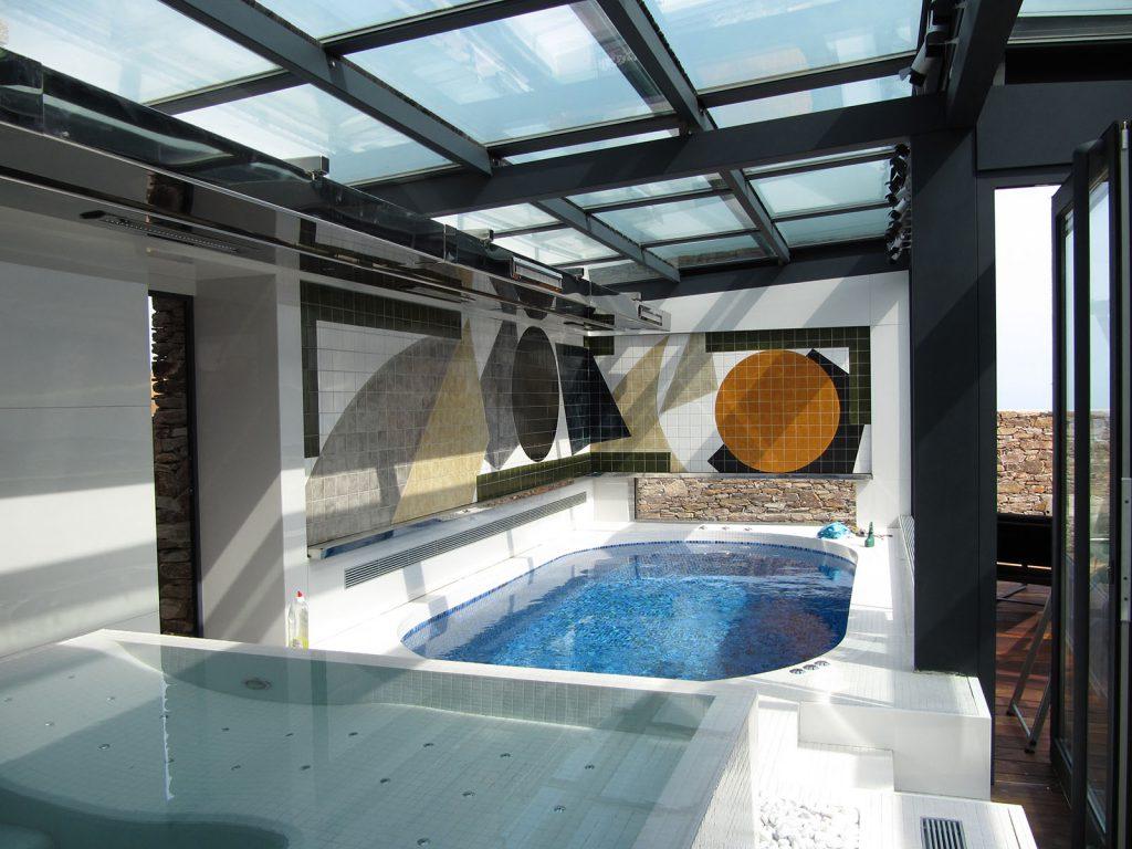 Toiture coulissante pour piscine et spa - TOITEL