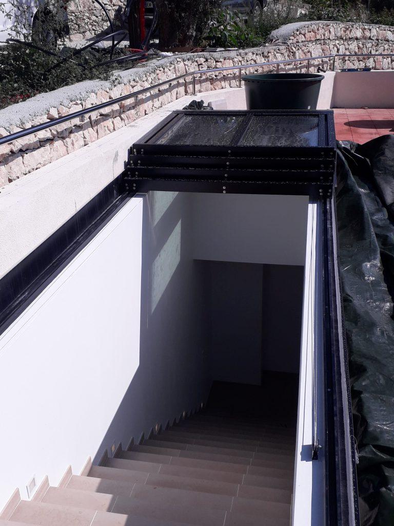 Verrière ouvrante pour accès toit - Toitel