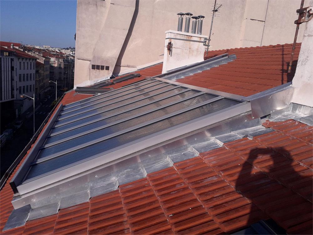 Ouverture totale de combles par toiture ouvrante - TOITEL