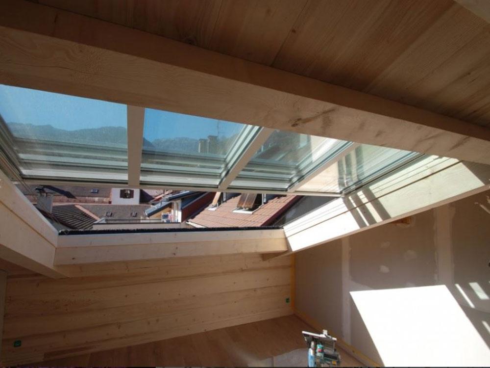 Maison avec combles aménagées et toiture ouvrante TOITEL