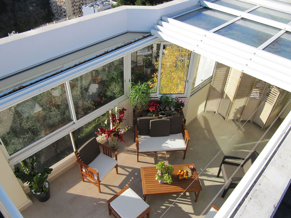 Création d'un jardin d'hiver dans une maison avec une verrière ouvrante - TOITEL
