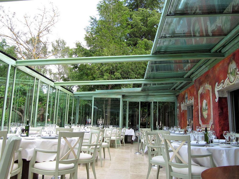 Couverture véranda par une toiture mobile CHEZ BRUNO (Lorgues) - TOITEL