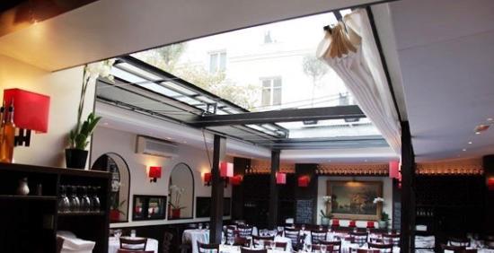 Toit amovible de la salle du restaurant LIVIO - 3